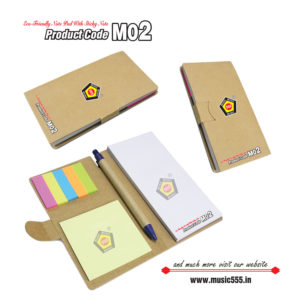 M02-Eco-Friendly-Sticky-Note-Pad-music555-manufacturing-mumbai