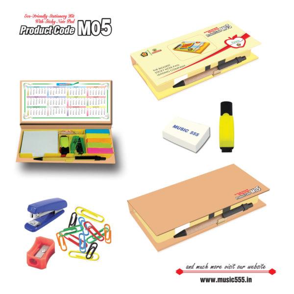 M05-Eco-Friendly-Sticky-Note-Pad-music555-manufacturing-mumbai