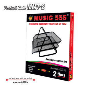 Mesh-Wire-Document-Tray-2tires-MMT-2-music555-manufacturing-mumbai