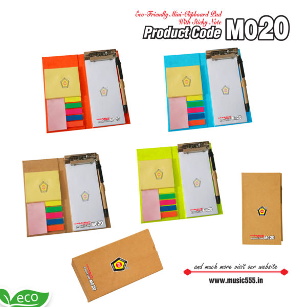 M020-Eco-Friendly-Dairy-Multi-Color-Sticky-Note-Pad-music555-manufacturing-mumbai