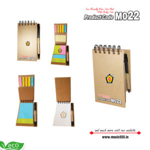M022-Eco-Friendly-Wiro-Dairy-Multi-Color-Sticky-Note-Pad-music555-manufacturing-mumbai