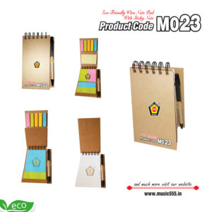 M023-Eco-Friendly-Wiro-Dairy-Multi-Color-Sticky-Note-Pad-music555-manufacturing-mumbai