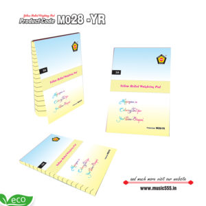 M028-YR-Eco-Friendly-Yellow-Ruled-Color-Sticky-Note-Pad-music555-manufacturing-mumbai
