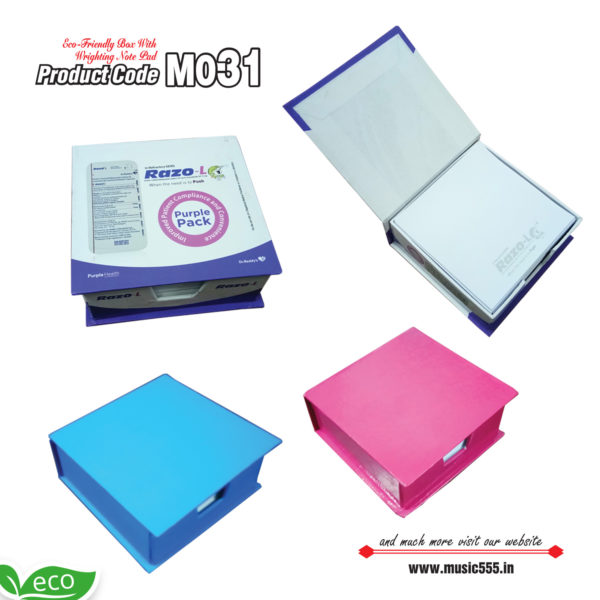 M031-Eco-Friendly-Foldable-Cube-Sticky-Note-Pad-music555-manufacturing-mumbai