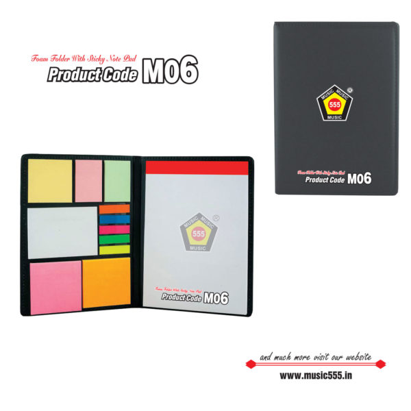M06-Eco-Friendly-Sticky-Note-Pad-music555-manufacturing-mumbai