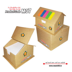 M07-House-Cube-Eco-Friendly-Sticky-Note-Pad-music555-manufacturing-mumbai