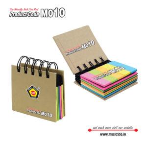 M10-Eco-Friendly-Wiro-Sticky-Note-Pad-music555-manufacturing-mumbai