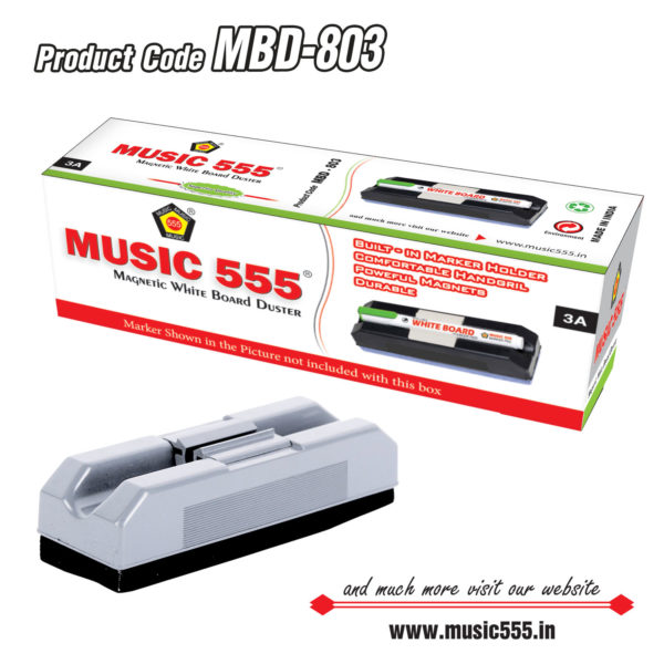 Magnetic-White-Board-Duster-music555-manufacturing-mumbai