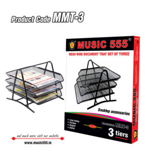 Mesh-Wire-Document-Tray-3tires-MMT-3-music555-manufacturing-mumbai