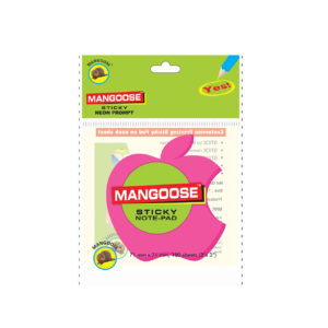 Apple-Shape-Die-cut-Sticky-Note-Pad-Front-music555-manufacturing-mumbai