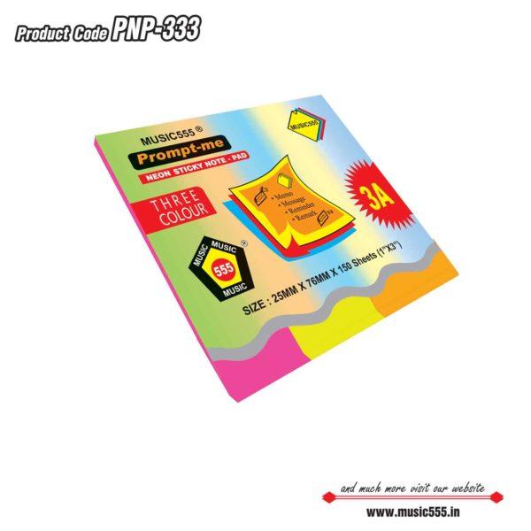 1×3-Three-Prompt-Me-Sticky-Note-Pad-Bharani-Industriesr-music555-manufacturing-mumb