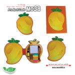 M038-Eco-Friendly-Mango-Shape-Stationery-Kit-music555-manufacturing-mumbai