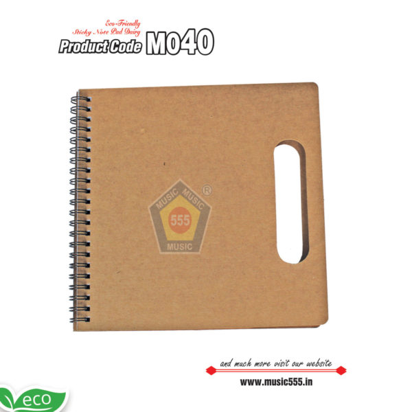M040-Eco-Friendly-Sticky-Note-pad-Dairy-music555-manufacturing-mumbai2