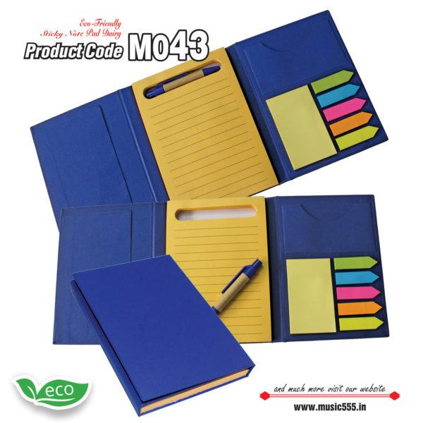 M043-Eco-Friendly-Sticky-Note-pad-Dairy-music555-manufacturing-mumbai2