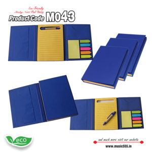 M043-Eco-Friendly-Sticky-Note-pad-Dairy-music555-manufacturing-mumbai3