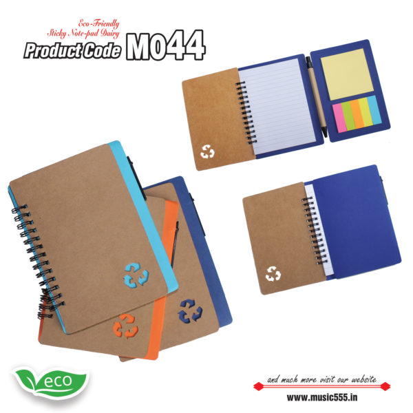 M044-Eco-Friendly-Sticky-Note-pad-Dairy-music555-manufacturing-mumbai3