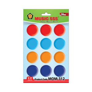 Opaque-Magnetic-Button-30mm-6pcs-music555-Bharani-Industries-manufacturing-mumbai
