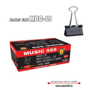 19mm-12pcs-Binder-Clip-music555-manufacturing-mumbai