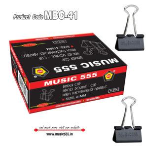 41mm-12pcs-Binder-Clip-music555-manufacturing-mumbai
