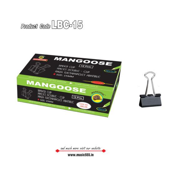 Mangoose-15mm12-Binder-Clip-music555-manufacturing