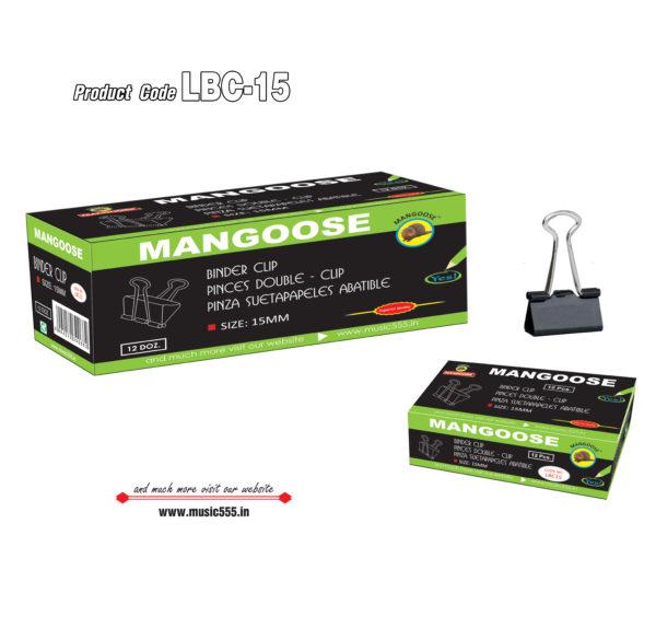 Mangoose-15mm144-Binder-Clip-music555-manufacturing