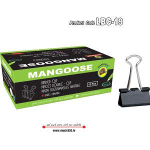 Mangoose-19mm12-Binder-Clip-music555-manufacturing
