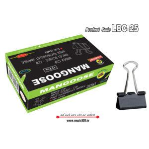 Mangoose-25mm12-Binder-Clip-music555-manufacturing