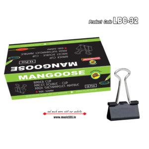 Mangoose-32mm12-Binder-Clip-music555-manufacturing