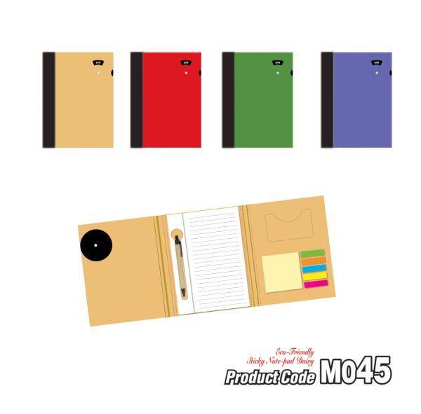 M045 Eco-Friendly Sticky Note-pad Dairy 2