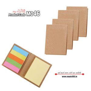 M046-Brown Eco-Friendly Sticky Note Kishan