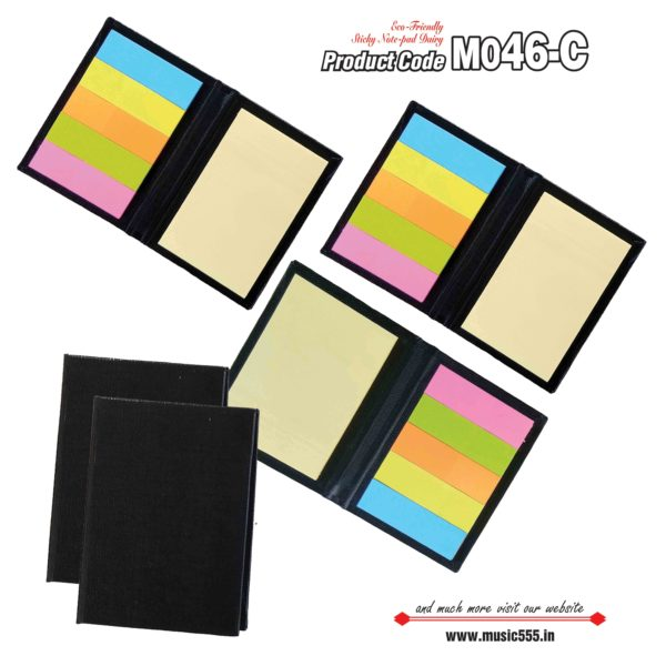 M046-C Black Eco-Friendly Sticky Note-2