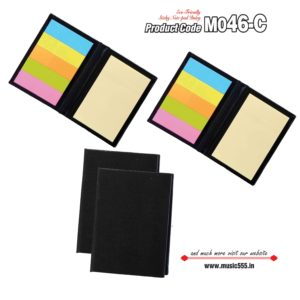 M046-C Black Eco-Friendly Sticky Note