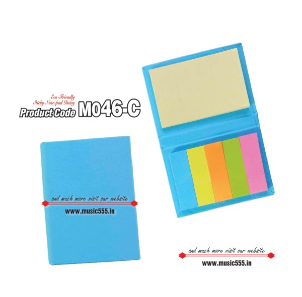 M046-C L-Blue Eco-Friendly Sticky Note Kishan