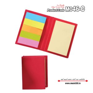 M046-C Red Eco-Friendly Sticky Note Kishan