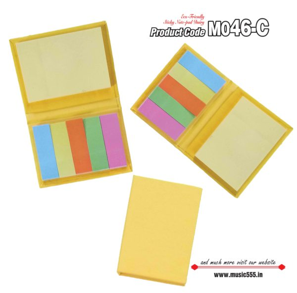 M046-C Yellow Eco-Friendly Sticky Note Kishan